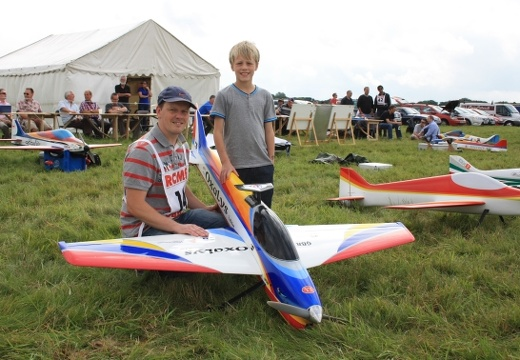Flying Clubman at his first Nationals, Danny Aisthorpe and Charlie