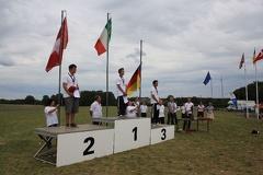 Junior podium: Marco Mazzuccchelli (Italy) 1st, Sandro Matti (Switzerland) 2nd and Philip Rannetshauser (Germany) 3rd -- Junior podium: Marco Mazzuccchelli (Italy) 1st, Sandro Matti (Switzerland) 2nd and Philip Rannetshauser (Germany) 3rd