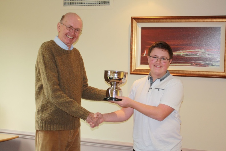 Alex presented with RCM&E Bowl. Winner Clubman League.