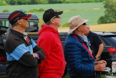 Mike Rieder watches Garry Peacock coaching Al Williams