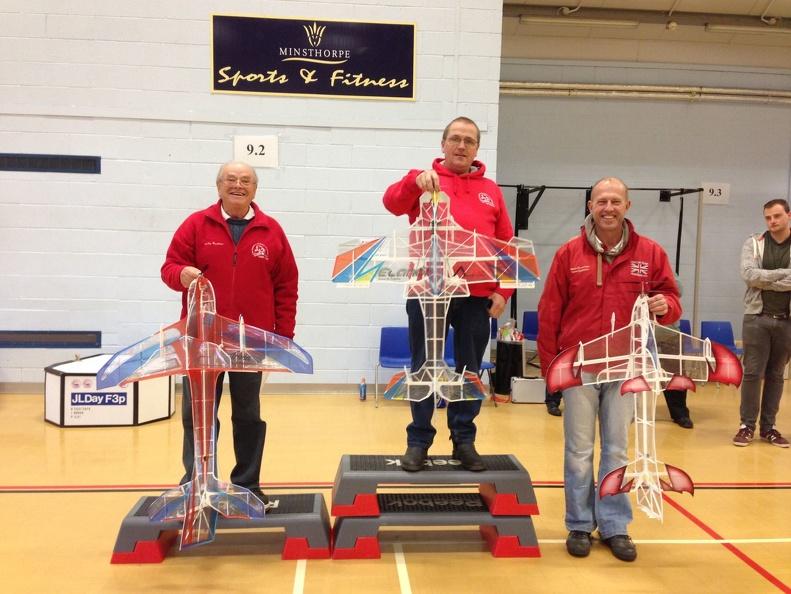 GBR/CAA 'C' Schedule podium.