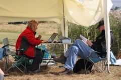 Our happy score recorders were kept busy all weekend  -- Our happy score recorders were kept busy all weekend